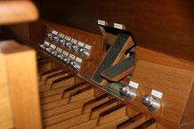 Spielhilfen Orgel Stäfa