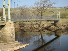 The Swing Bridge near Reeth