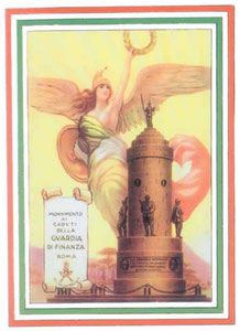 Monumento ai Finanzieri (Cartolina 1930)
