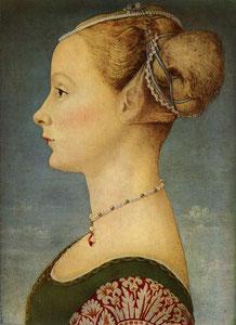 Ritratto Femminile, di Pietro Pollaiolo