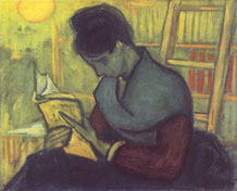 """Vincent van Gogh """"Die Romanleserin"""", 1888"""