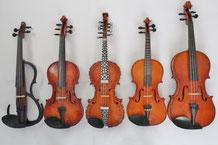 バイオリン フィドル 違い