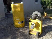 machine pour isolation des combles par souflage