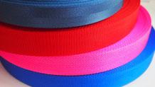 肌触りが滑らかで柔らかいナイロン糸の細巾織物
