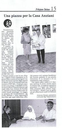 """articolo de """"Il grigione Italiano"""" del 17.06.2010"""