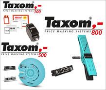 Printer und Preismodule für TAXOM 100, TAXOM 500 und TAXOM 800