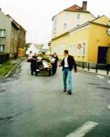 Wünschendorf Elster Maibaum setzen 2000