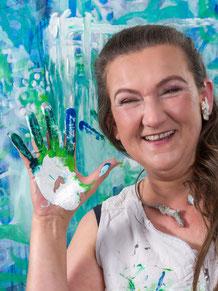 Portrait, Künstlerin, Inge Zuck, Dr. Ralph Oehlmann, Oehlmann-Photography