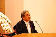 祝辞:片山神学部教授