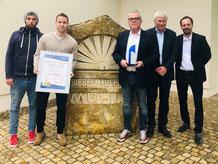 2. Platz für die Bäckerei Biebelhausener Mühle beim bundesweiten Käse-Snack-Award.