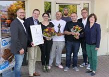 Zacharias Marketing-Award 2018 für die Bäckerei Lenert und sygaBack