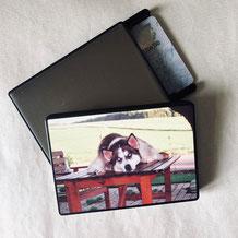 Druckatelier46 - Kartenhalter - RFID Schutzhülle mit Fotodruck
