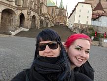 Bloody Brilliants Team Maaria und Claudia in Erfurt zum Comicpark