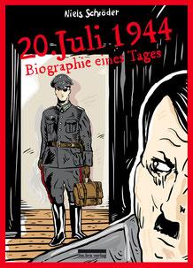 Anlässlich des 75jährigen Jahrestages des Attentates von Stauffenberg auf Hitler erscheint eine neue Graphic-Novel von Niels-Schröder, die die Thematik eindrucksvoll darstellt. Sie erscheint bei be.bra Berlin.