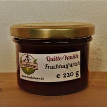 Quitte Vanille Fruchtaufstrich
