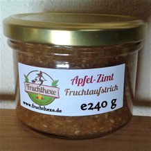 Apfel Zimt Fruchtaufstrich