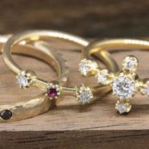 先輩カップルの結婚指輪(サンクイル岐阜)