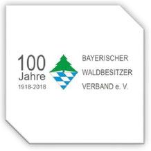 """JUBILÄUMSVERANSTALTUNG """"100 JAHRE BAYERISCHER WALDBESITZERVERBAND mit Martin Cernan"""