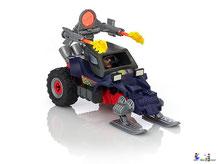 Besonderheiten im Playmobil Paket 9055 ist eine funktionierende Harbunengeschoss.