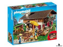 """Bei der Bestellung im Onlineshop der-Wegweiser erhalten Sie das Playmobil Paket 5422 """"Almhütte""""."""