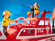 Besonderheiten im Playmobil Paket 3128 ist eine funktionierende Wasserspritze für viel Wasserspass.