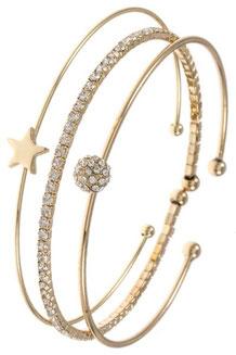 Bracelet Style: C55-127574 Gold