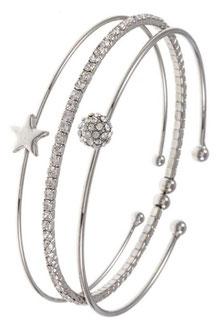 Bracelet Style: C55-127574 rhodium