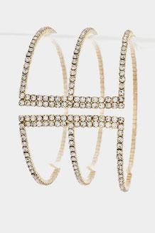 Bracelet Style: QA55-124018 Gold