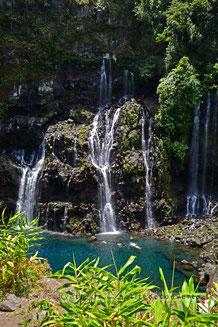 - Cascade de Grand Galet à Langevin - La Réunion -
