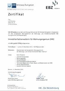 IHK Abschluß Immobilienverwaltung