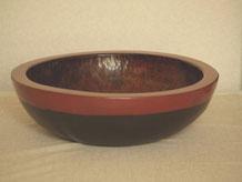 鎌倉彫 大鉢|鎌倉漆工房いいざさ