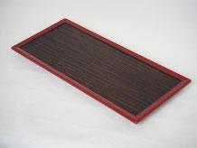 鎌倉彫 用の器 板皿|鎌倉漆工房いいざさ