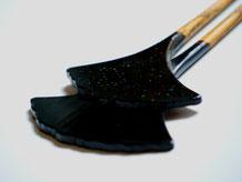 鎌倉彫 アクセサリー 鎌倉大銀杏簪(かんざし)|鎌倉漆工房いいざさ