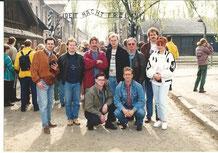 Besuch in Ausschwitz 1995