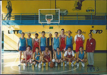 Int. BB.Turnier in Lubjana/POL 1993, 3.Platz