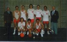 Unser Team mit Herbert Grosse und Herbert Stäcker im Jahr 1989