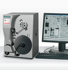 Mikrofilm-Scansystem für 16/35 mm Rollfilme