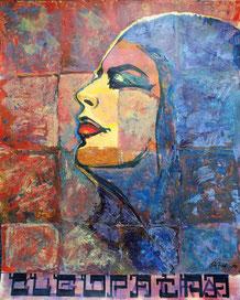 Cleopatra 80 x 60 cm, Papier