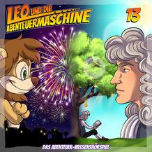 CD Cover Leo und die Abenteuermaschine Folge 13