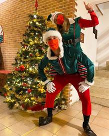 ritiro letterina elfi babbo natale roma