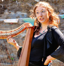 Alicia Ducout Chants celtique et harpe