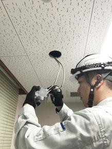 非常照明の交換工事ができる電気工事の資格者