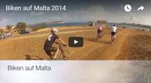 Biken auf Malta - 2014