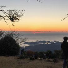 妙法山 初日の出