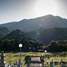 那智勝浦町のふだらく霊園永久管理墓