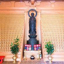 熊野妙法山 阿彌陀寺の子安地蔵とかさ地蔵