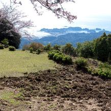 妙法山見晴台から見る熊野灘