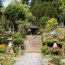 阿彌陀寺の境内、平成29年5月1日現在