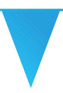 Vlaggenlijn blauw 10m € 2,50
