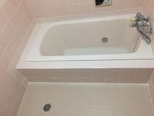 在来浴室(タイル浴室)浴槽交換 タイル床 東リ バスナフローレ